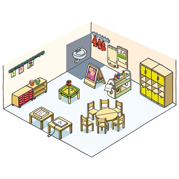 Kindergartenmöbel
