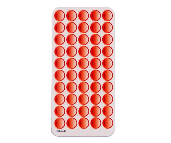 Stickerbogenset rot für Tellimero / Welt der Zahlen