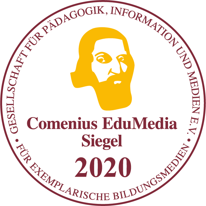 Auszeichnung Comenius EduMedia Siegel